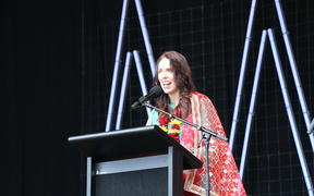 Prime Minister Jacinda Ardern officially opened the Diwali festival at the Aotea Centre.