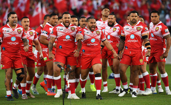 The Tonga XIII played with passion