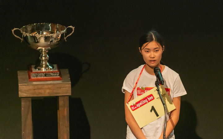 Auckland student wins gruelling spelling bee