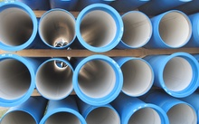 Cement pipes used for drinking water and sewage