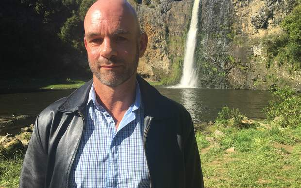 Auckland Council parks manager Mark Bowater