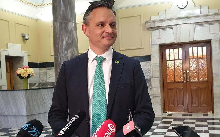 James Shaw after the Zero Carbon Bill passed its third reading on 7 November 2019.