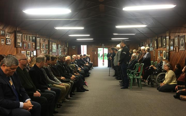 More than 200 people gathered at Pāpāwai Marae in Greytown today as Ngāti Kahungunu ki Wairarapa celebrated the first person from their iwi to be knighted.