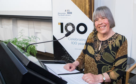 Dame Gillian Whitehead prepares to give 2019 Lilburn Lecture