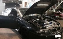 A highly-modified Nissan GTL Skyline was found after a major nationwide police operation against an alleged meth ring.
