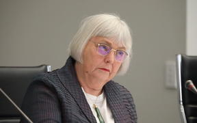 Commissioner Carol Shaw at the hearing of the Royal Commission into Abuse in Care inquiry.