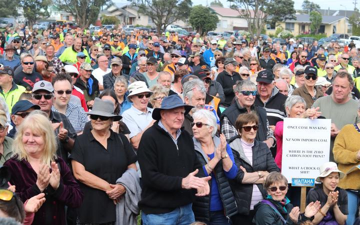 Farmers, miners, forestry workers and West Coast residents are gathering in Greymouth for a rally against what they say are 'one size fits all' government policies.