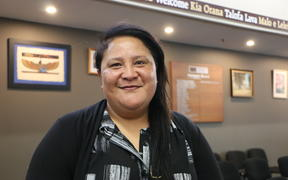 Mary Aue runs the online community noticeboard Coconut Wireless in South Auckland.