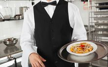 waiter with food