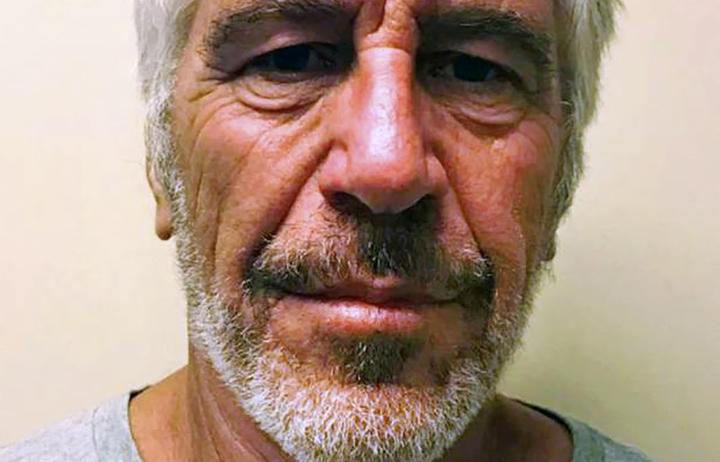 This undated file handout photo obtained July 11, 2019 courtesy of the New York State Sex Offender Registry shows US financier Jeffrey Epstein.