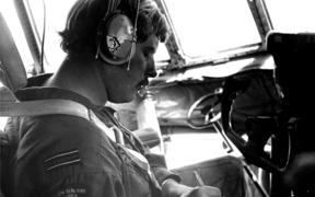 Flight Lieutenant Ray Robinson piloted the second of two RNZAF Hercules flights to Antarctica.