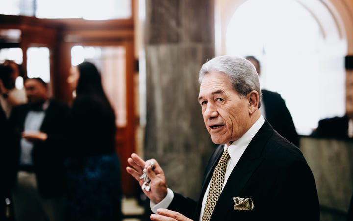 New Zealand First leader Winston Peters. Photo: RNZ /Dom Thomas