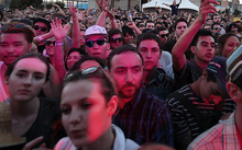 Audience at Laneway Festival 2015