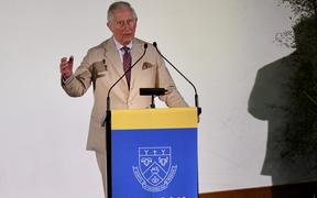 Prince Charles spoke at Lincoln University about the impact humans are having on the environment.