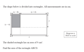 An error was identified with this NCEA Level 2 algebra exam question.