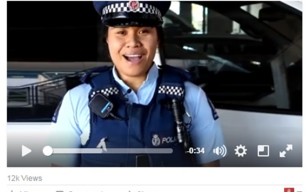One of Counties Manukau's videos posted on Facebook.