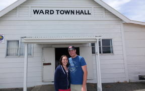 The Ward Town Hall is the hub of the rural community.