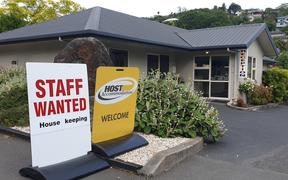 Hospitality businesses at the top of the South Island are struggling to fill summer job vacancies.