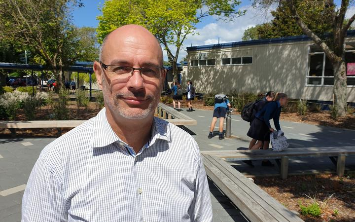 Glendowie College principal Richard Dykes
