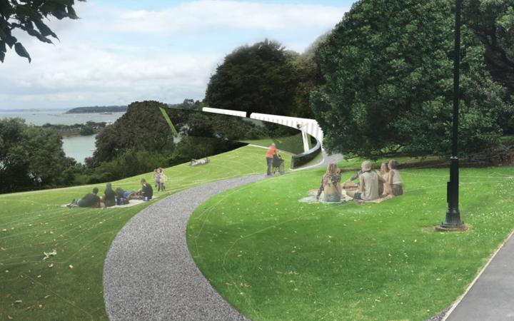 Proposed Erebus memorial design