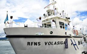 The Fiji Navy's capability to ensure safety at sea has been boosted with the arrival of  RFNS Volasiga.