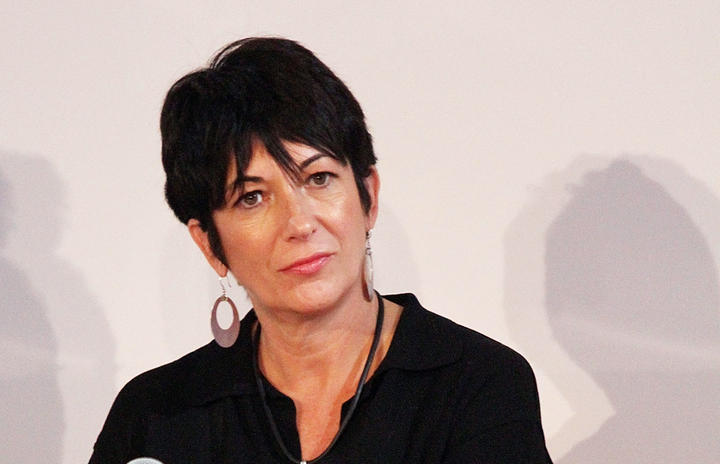 Ghislaine Maxwell attends 4th Annual WIE Symposium at Center 548 on September 20, 2013 in New York City.