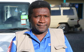 Patrick Nisira of the Bougainville Referendum Commission