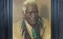 Charles Fredrick Goldie's 1941 portrait of Wharekauri Tahuna is expected to sell for about $1 million.