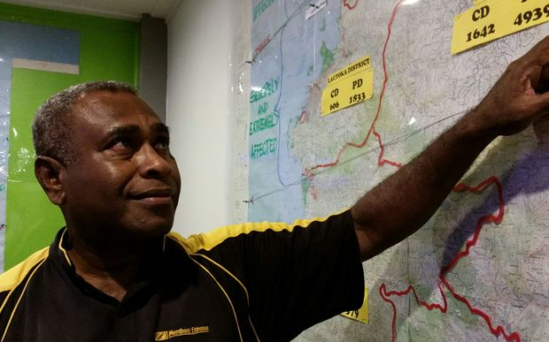Sitiveni Tavaga of the National Disaster Management Office.