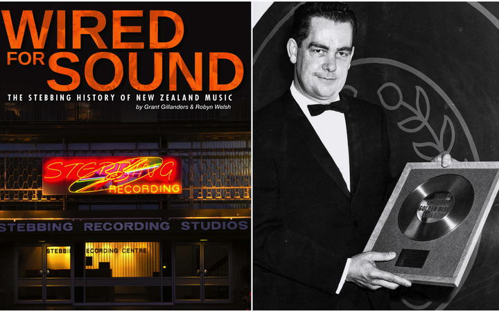 Wired For Sound book & Eldred Stebbing