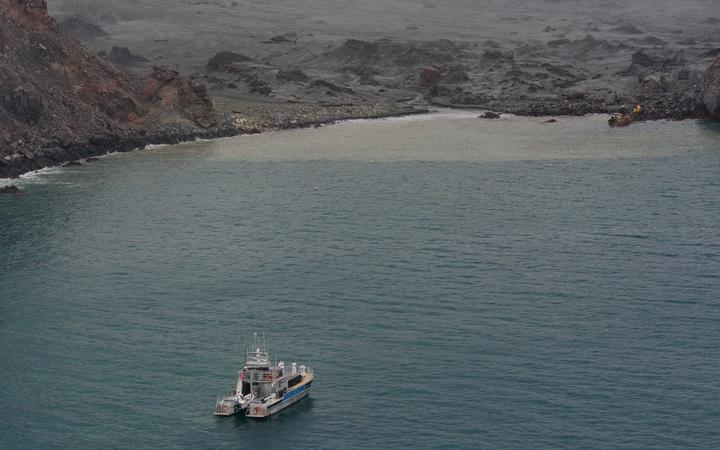 The Whakaari / White Island mission to recover bodies of the victims.