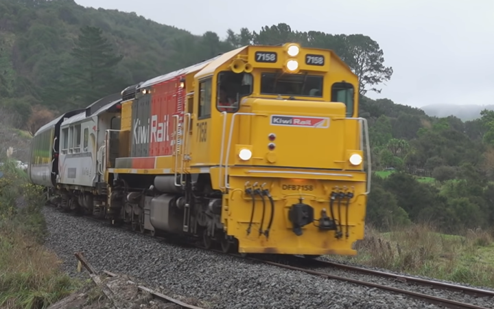 KiwiRail on Napier to Wairoa line.
