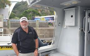 Mick Goodin, owner of The Gambler Charters.