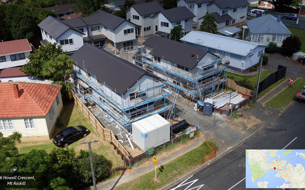 The Special Housing Area at Mt Roskill, established under the Auckland Housing Accord.