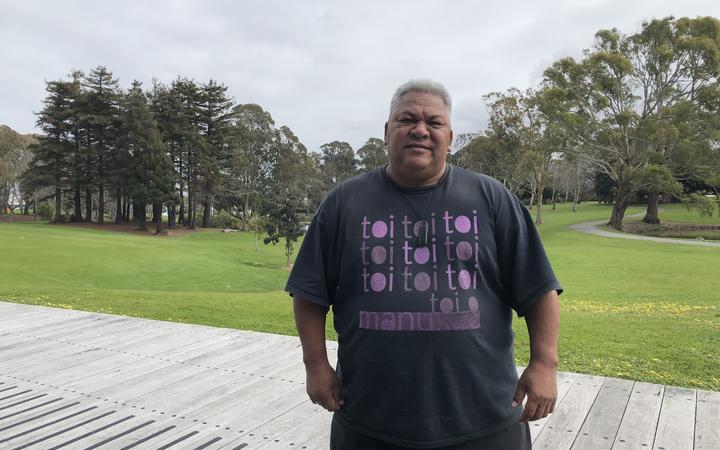 Councilor of the Manukau district, Alf Filipaina