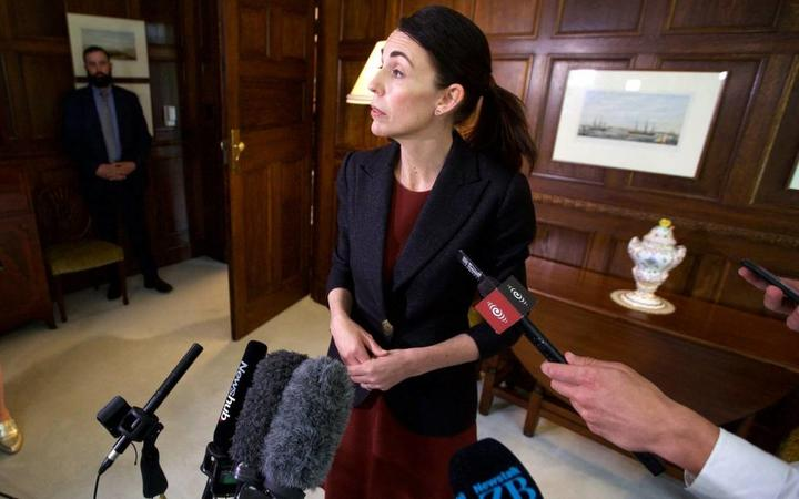 PM Jacinda Ardern offered an apology to the Erebus families on behalf of the government.