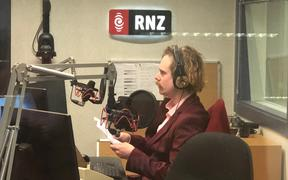 Finn Johansson in to the RNZ studio in Wellington for Out Lately.