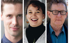Francis McWhannell, Matariki Williams, Warren Feeney