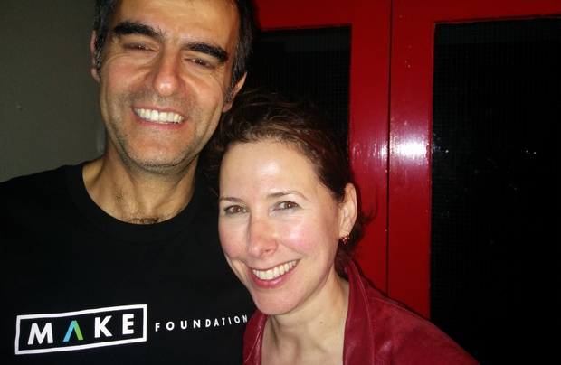Michelle Carlile-Alkhouri and Michel Alkhouri founders of Make Foundation