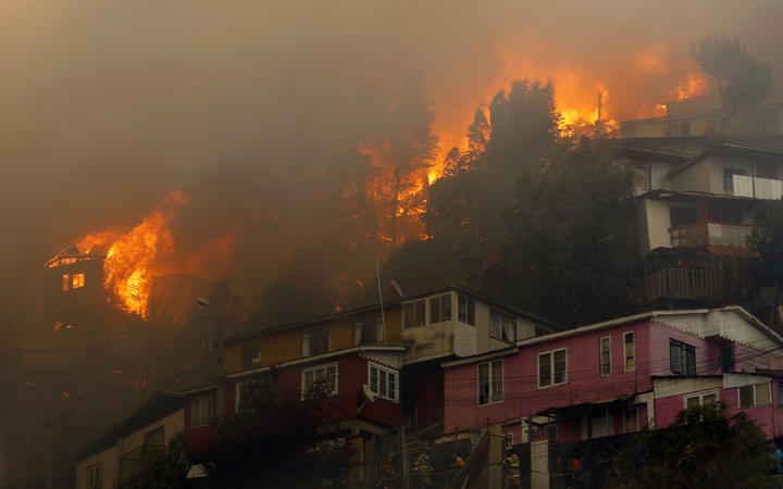 Valparaiso Fires May Have Been Set Intentionally, Says Chilean President