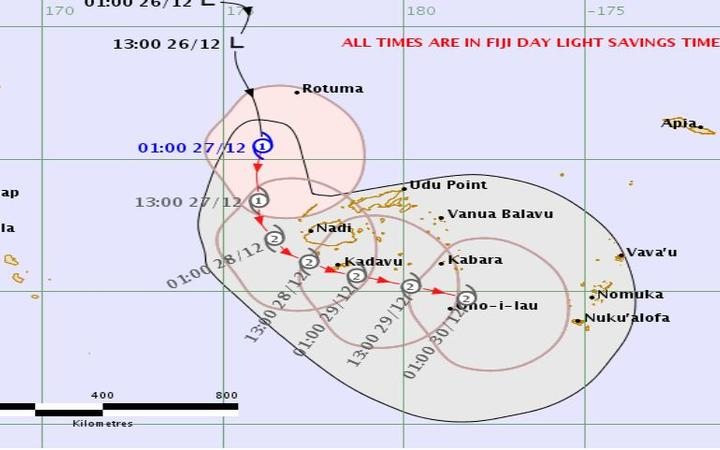 Almost 2000 evacuated as 'scary' cyclone hammers Fiji