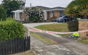 A house in Sunnyside Crescent, Papatoetoe, where two people were found dead and a child has been critically injured after a serious incident in South Auckland.