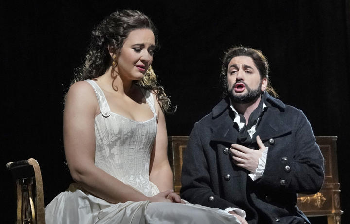 Lise Davidsen as Lisa and Yusif Eyvazov as Hermann