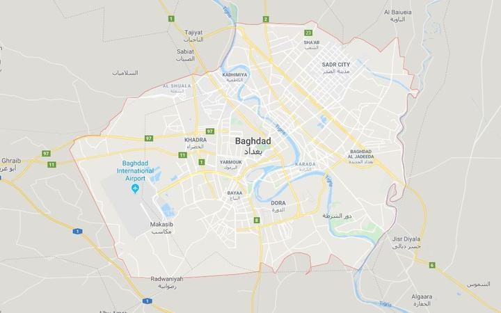 Two rockets fall inside Baghdad's Green Zone: police sources
