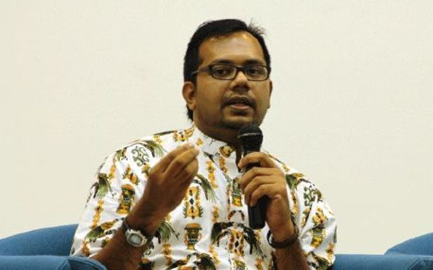 Haris Azhar, the co-ordinatorof the Commission for the Disappeared and Victims of Violence, or KONTRAS.