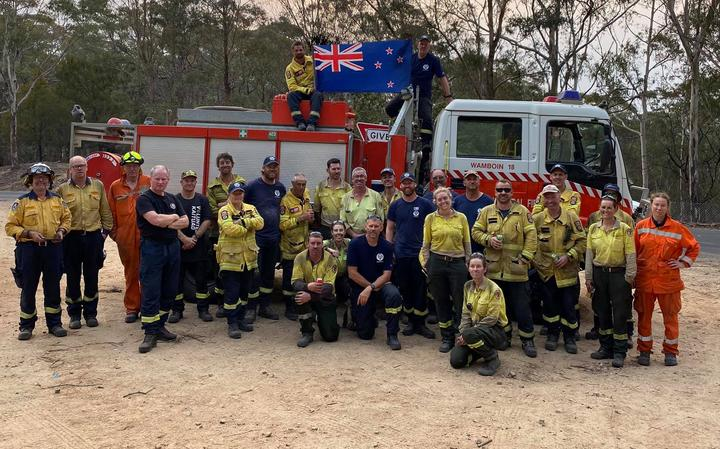 NZ firefighters in Australia