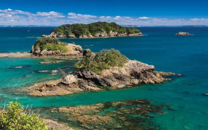 The Hauraki Gulf - Noises Islands