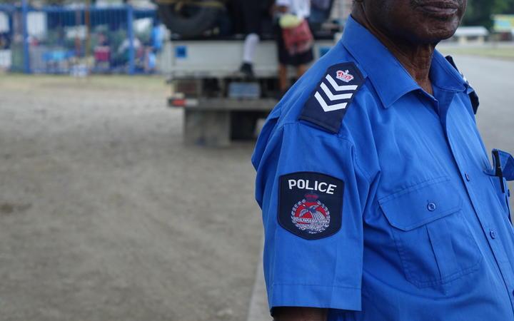 Papua New Guinea police