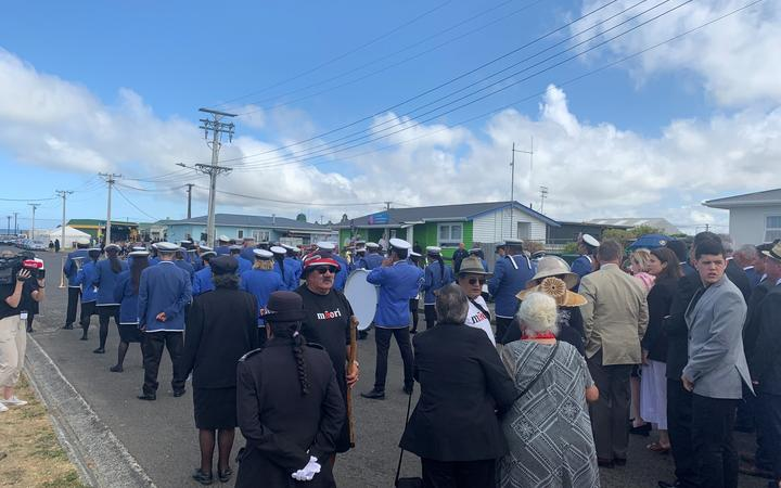 National party and Māori party about to be welcomed on to Rātana.