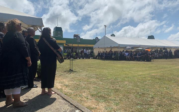 Opposition MP's have been welcomed on to Rātana Pā